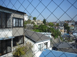 A view of Sugita from my first apartment.