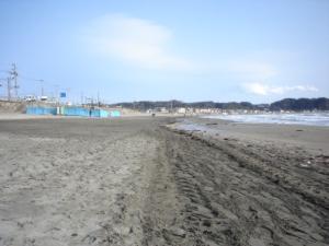 Yuigahama Beach - Kamakura